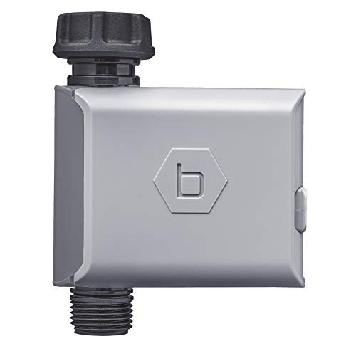 Orbit B-hyve 94995 Bluetooth Hose Tap, Also Works as Extra Valve for 94990 Timer with Wi-Fi Hub Grifo de Manguera, Gris